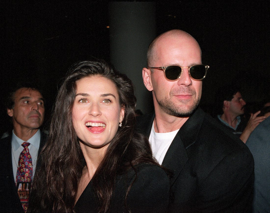 Demi Moore Reveals Her Ex-Husband Bruce Willis Is To Blame For Her 'Jarring' Bathroom Decor That Got Everyone Confused