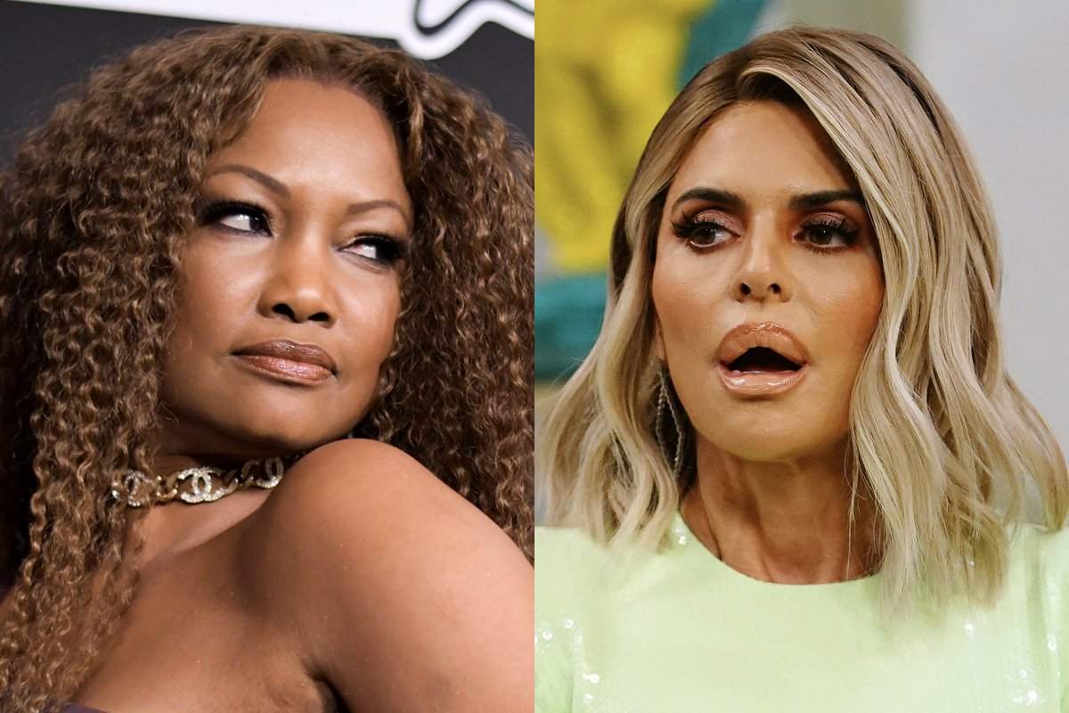 Lisa Rinna Calls Garcelle Beauvais Tacky After Getting Unfollowed — Fans Drag Rinna As A Hypocrite