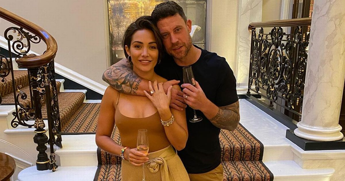 Frankie Bridge spills the secret behind her loving six-year marriage to Wayne