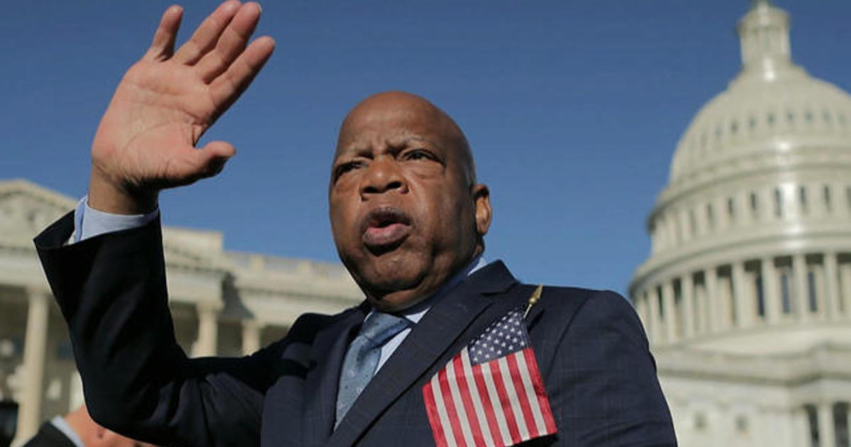 CBS News political contributor reflects on John Lewis' legacy