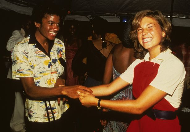 Michael Jackson and Tatum O'Neal pictured in 1978