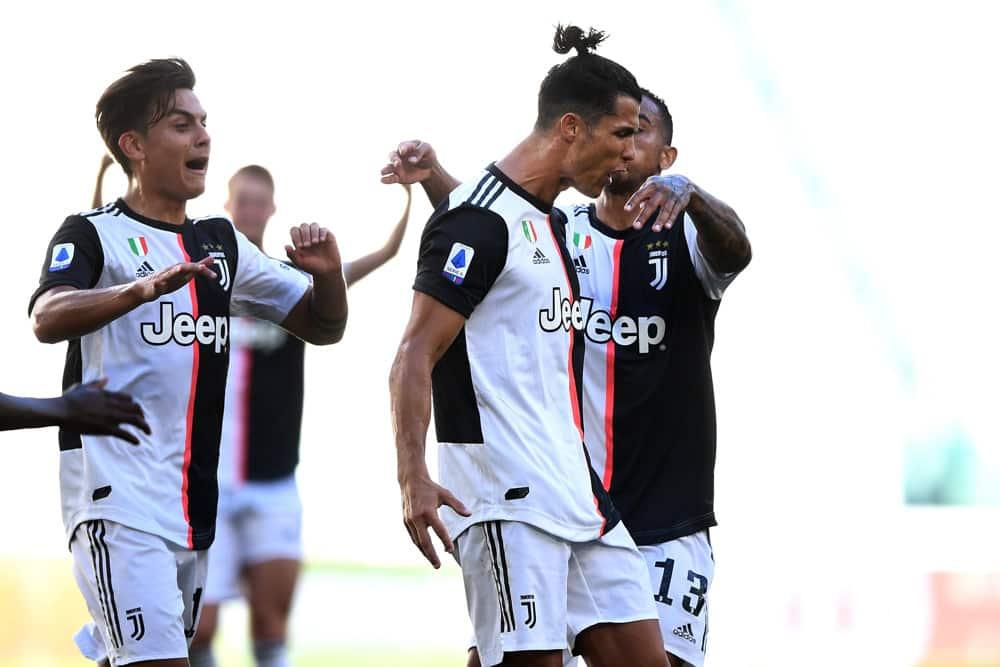 Ronaldo Leads Juventus to a Win Over Lazio, 2-1