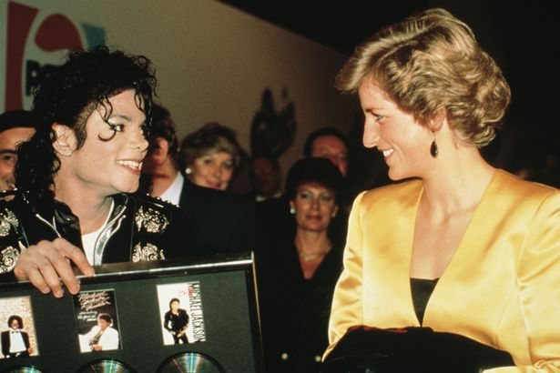 Jackson was 'in love' with Princess Diana