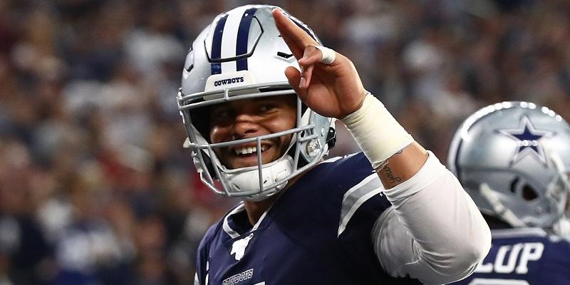 Cowboys QB Dak Prescott at peace with contract status