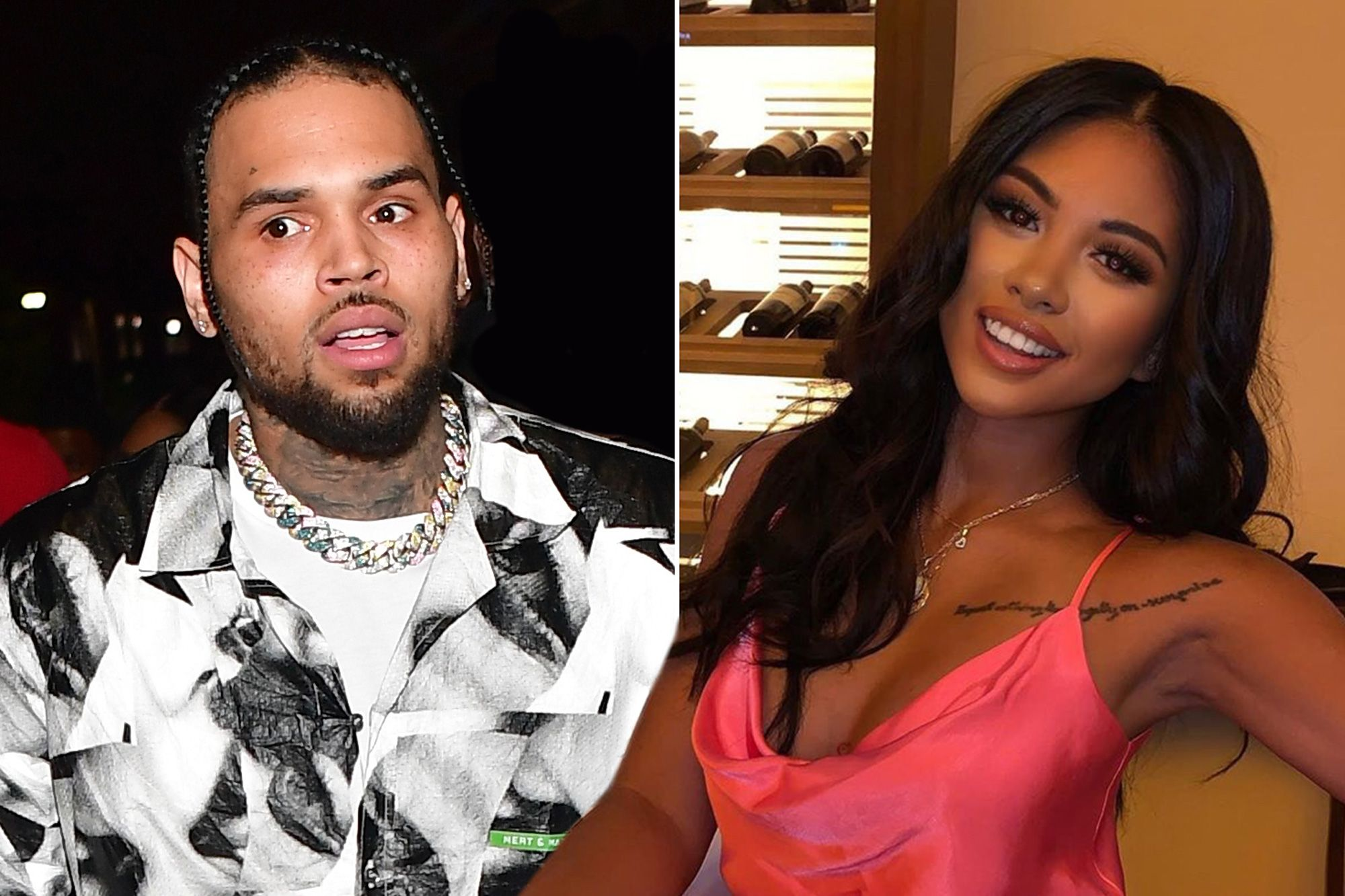 Chris Brown And Ammika Harris No Longer Follow Each Other On Social Media – Here's Why!