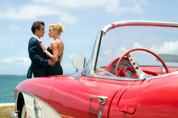 Johnny met Amber Heard on the set of 2011 film, The Rum Diary