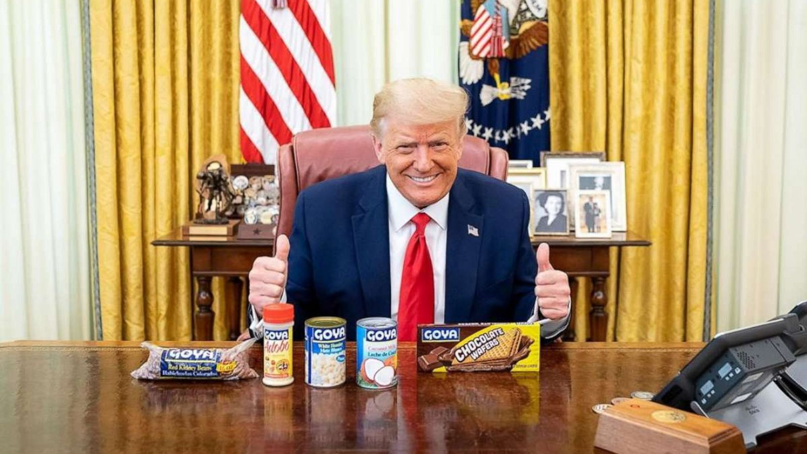 Donald Trump's Niece Slams Him For Posing With Goya Products Amid The Pandemic – 140,000 Americans Dead But He's 'Hawking Beans!'