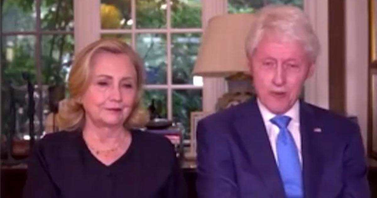 The Clintons remember Congressman John Lewis