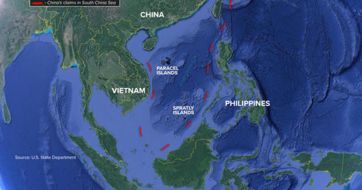 U.S. announces shift in South China Sea policy