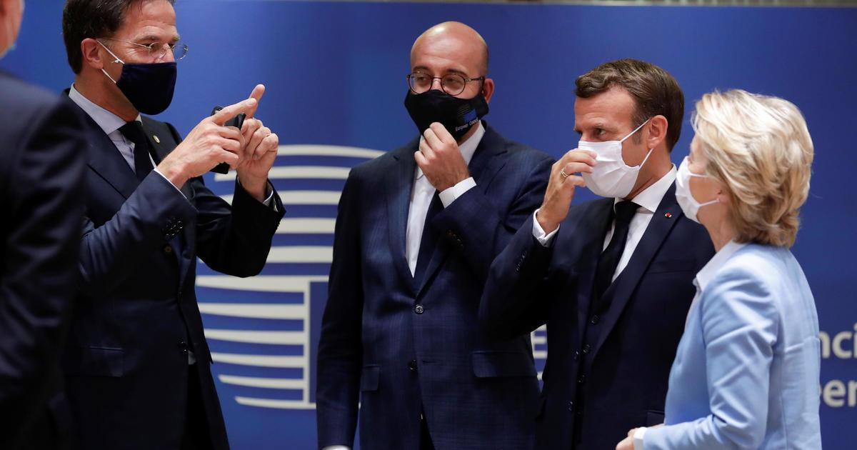 EU agrees on huge $858 billion virus aid fund at tense 4-day summit