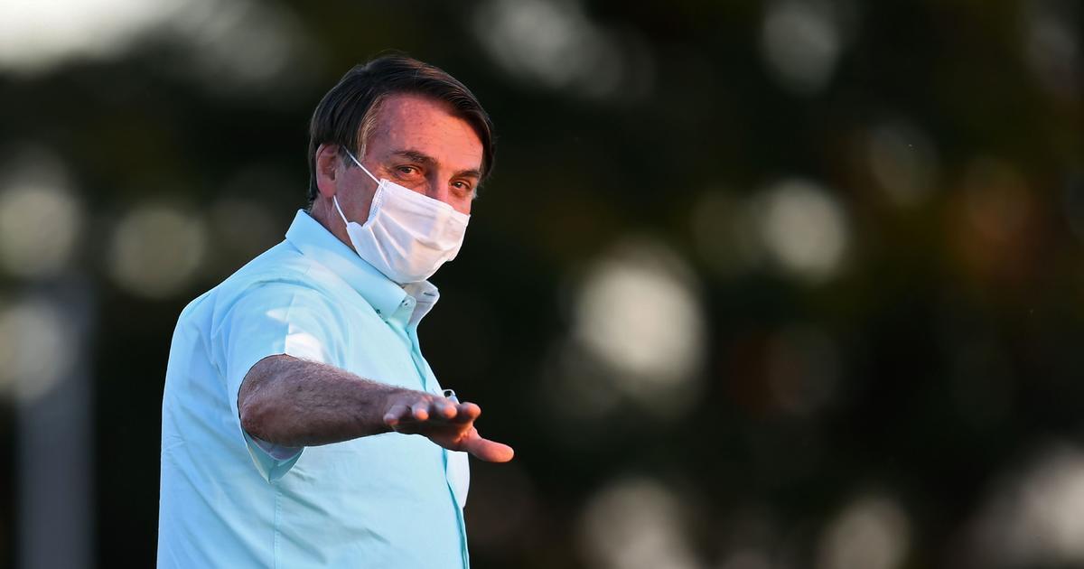 Brazil's President Jair Bolsonaro says he tested negative for coronavirus