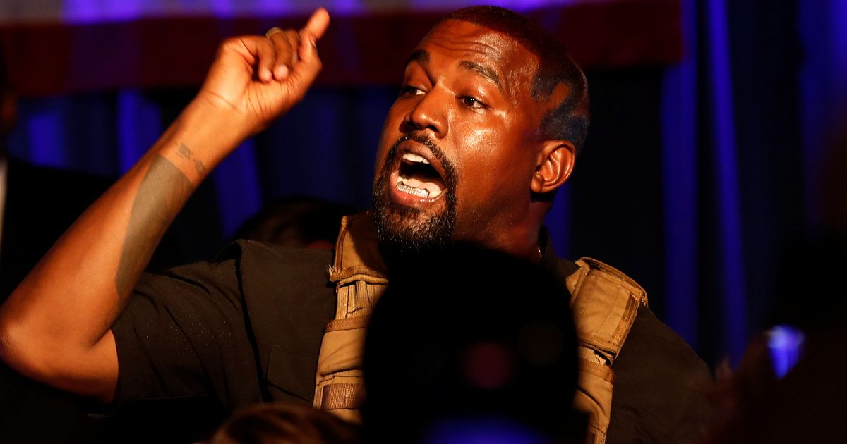 Kanye West hints he's pulling out of presidential race after rant about wife Kim