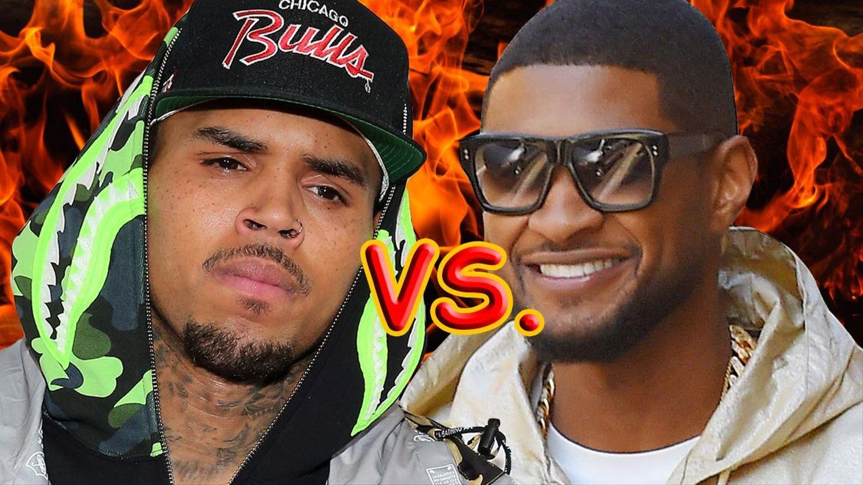 Chris Brown Responds After Usher Social Media Debate Pops Up