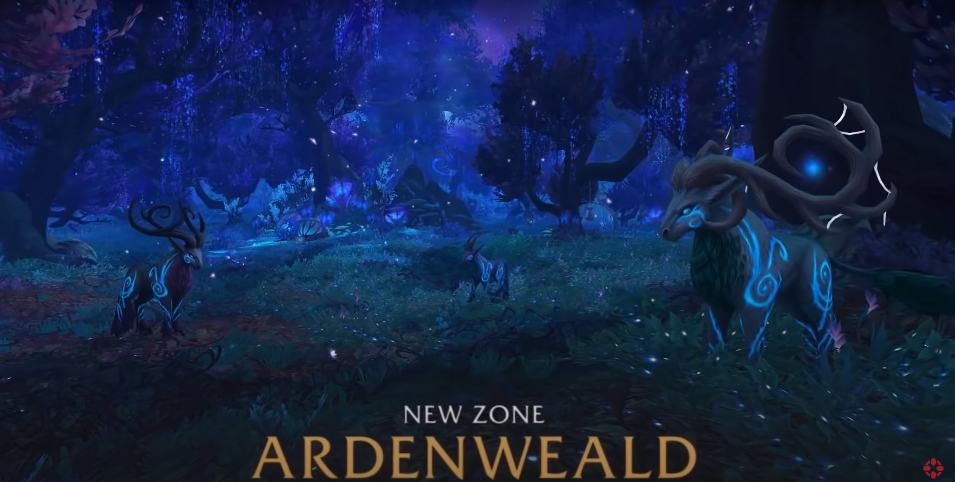 Shadowlands Sneak Peak: The Night Fae Amphitheater In World Of Warcraft: Shadowlands