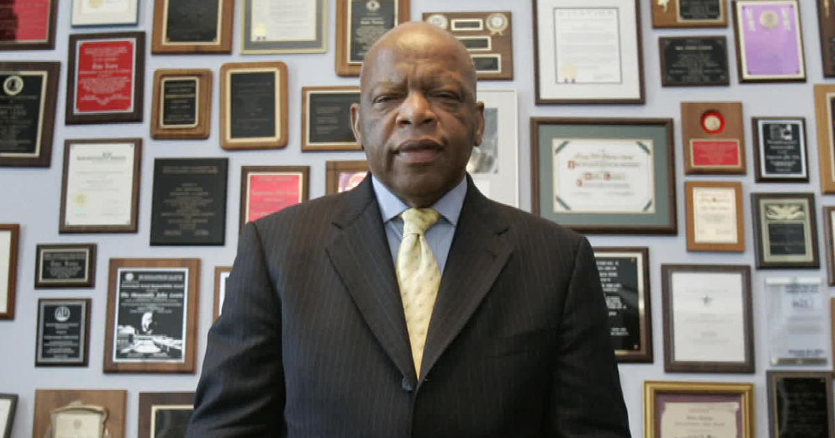 "Remembering John Lewis, a tenacious fighter who got into ""good trouble"""