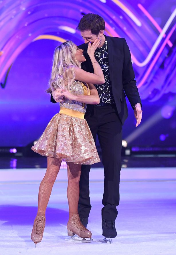 Kevin and Brianne met on Dancing On Ice and fell in love