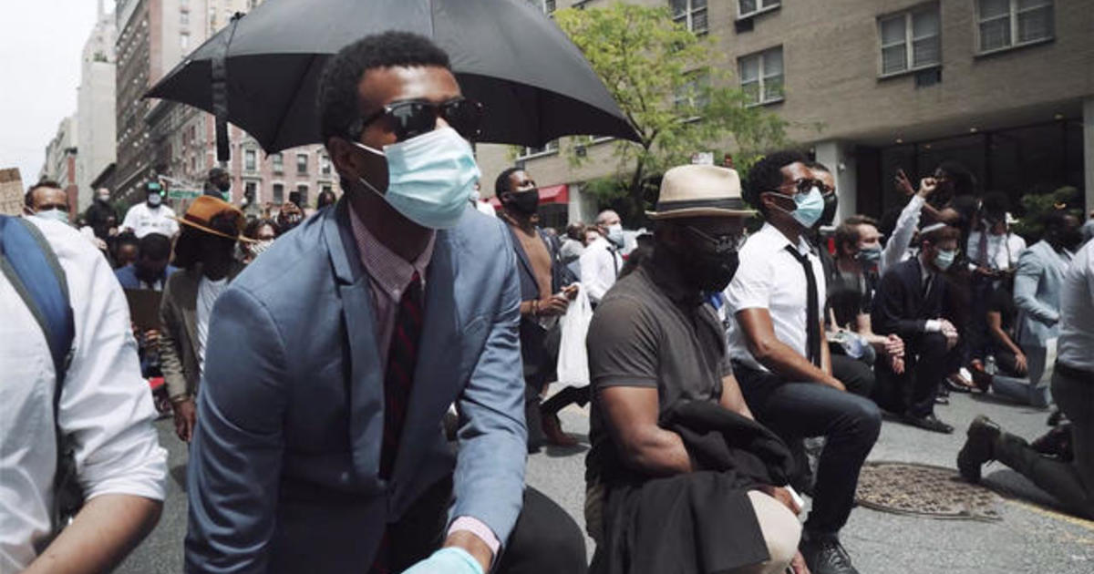 Young adults take to the streets of New York City to fight for Black Lives Matter