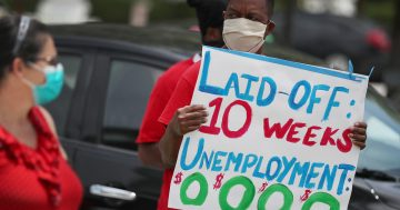 Does extra jobless aid keep people from returning to work?