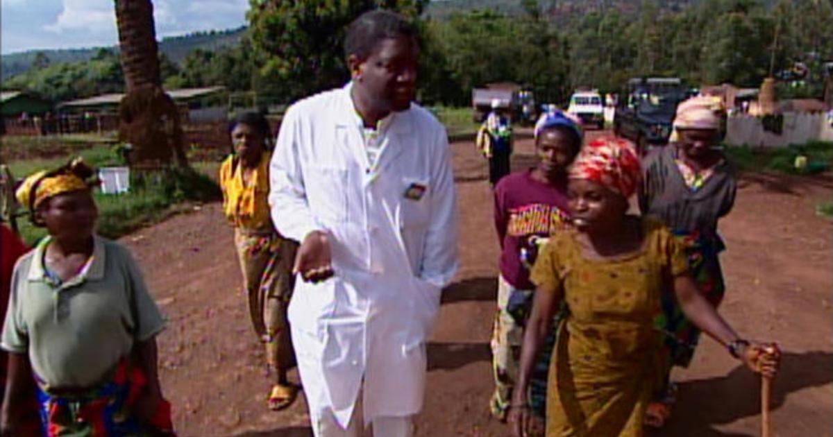 When 60 Minutes met Nobel winner Denis Mukwege