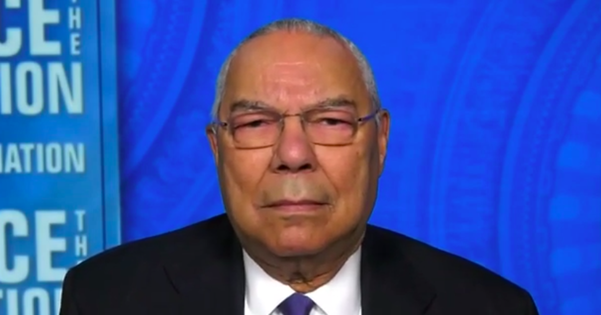 """Colin Powell remembers John Lewis as both """"tough as nails"""" and """"gentle"""""""