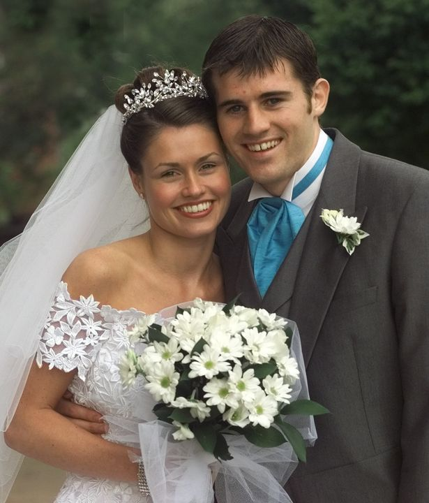 Kevin was just 22 when he married his girlfriend of four years, Laura