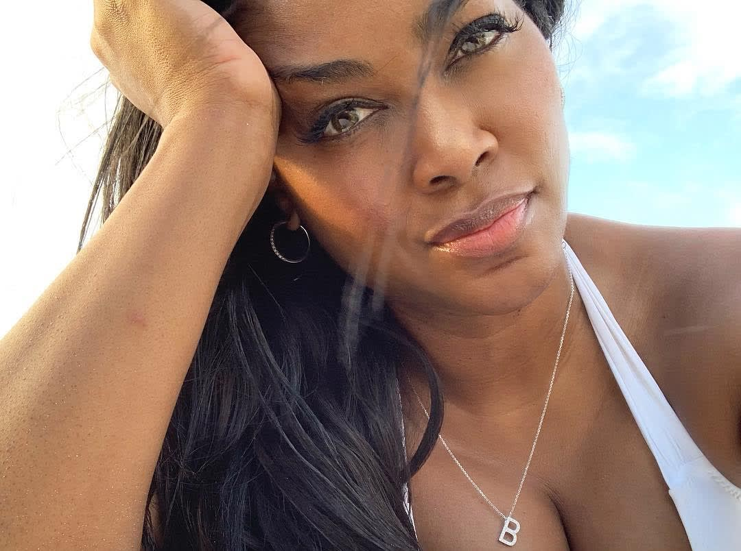 Kenya Moore's Latest Photo Impresses Fans Who Call Her 'The Black Barbie'