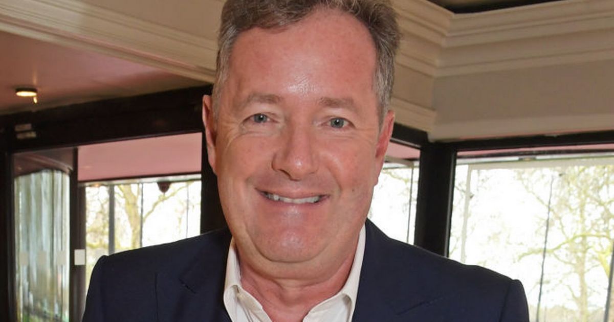 Piers Morgan on crutches after tearing a tendon on second day of his holiday