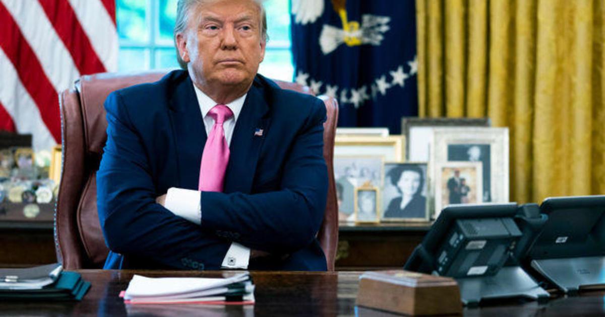 Trump administration negotiates coronavirus relief with GOP leaders