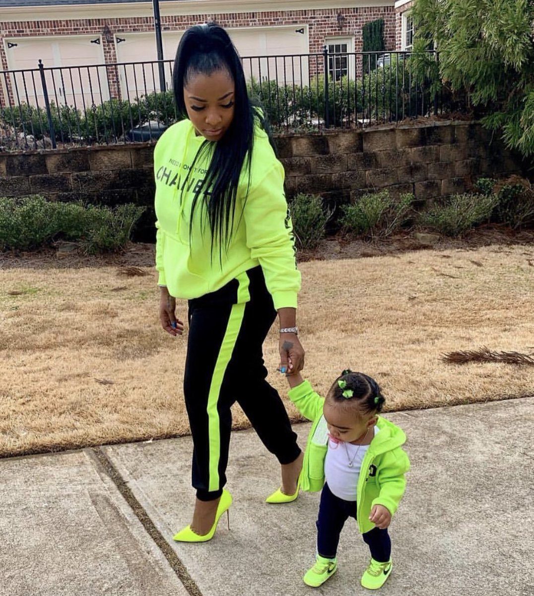 Toya Johnson's Video And Photo With Reign Rushing And Her New Bows Have Fans In Awe