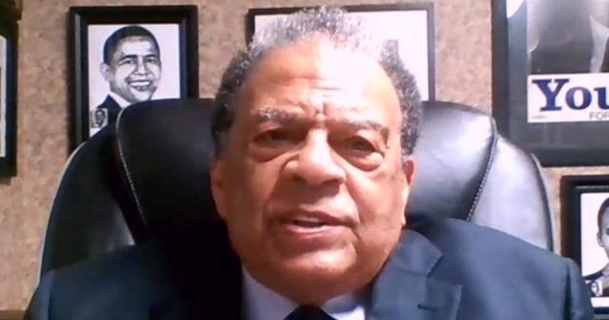 Ambassador Andrew Young discusses friend and fellow civil rights icon Representative John Lewis