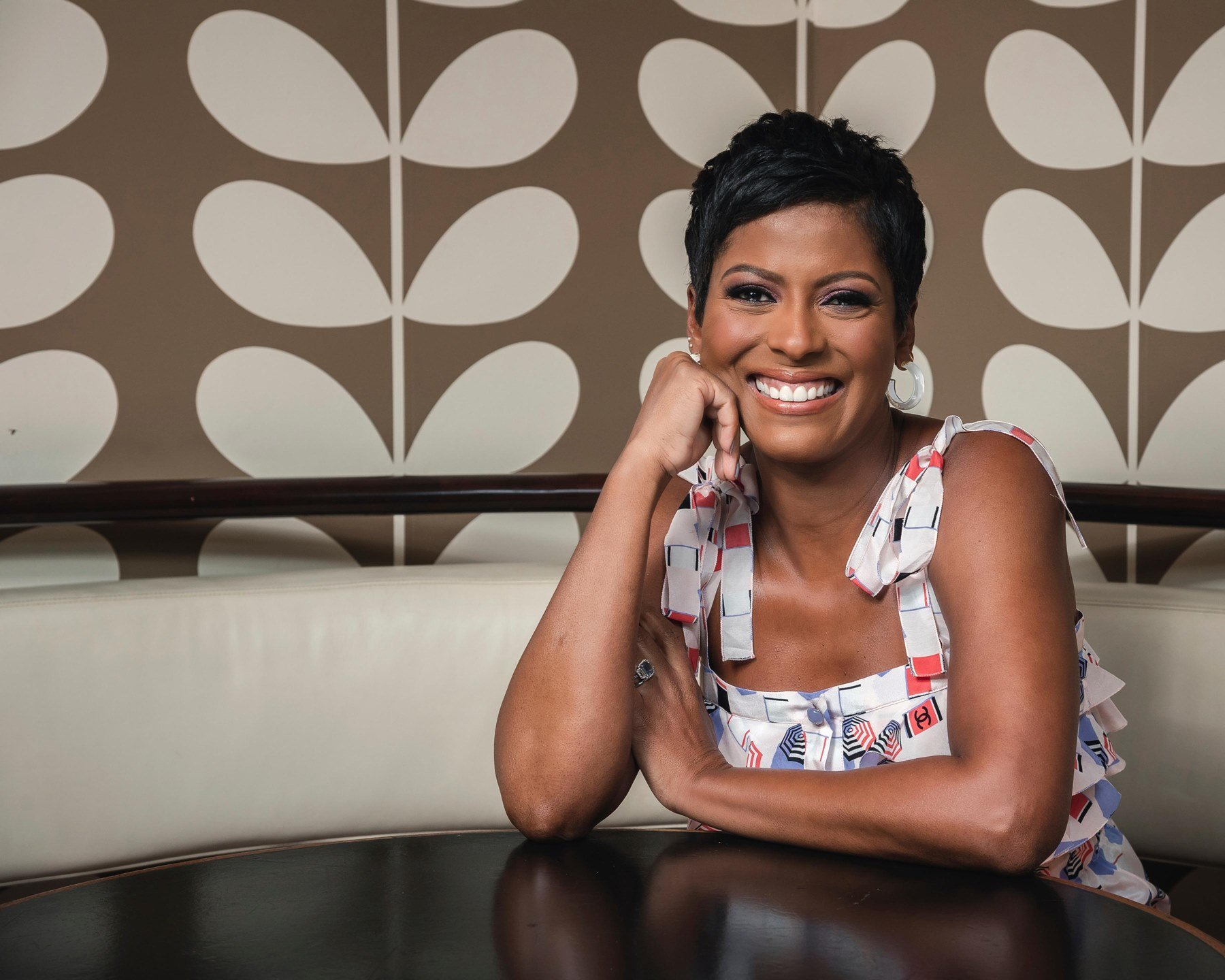 Tamron Hall Turns To The Sweet Side Of Life After Major Controversy With A Photo Where She And Baby Moses Are Rocking Rompers