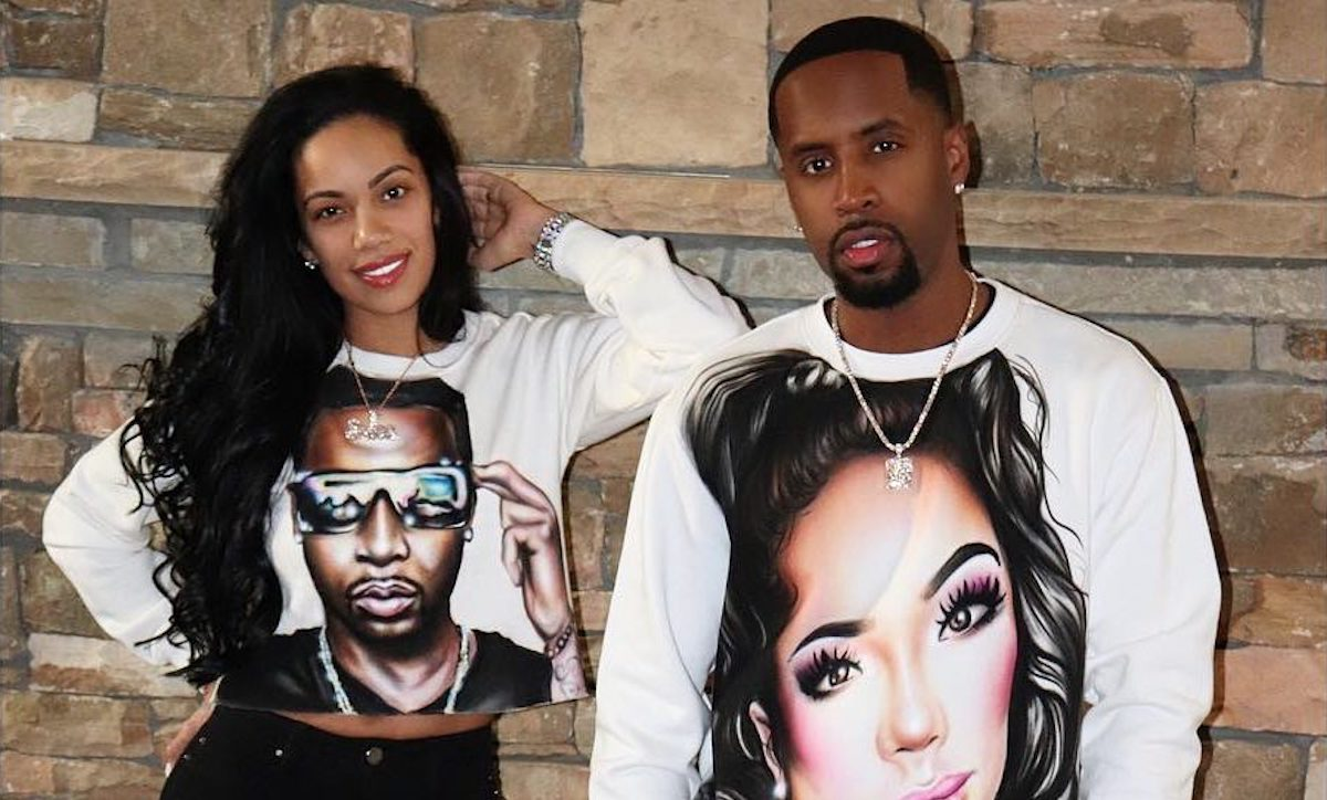Erica Mena Looks Dazzling In This Family Portrait With Safaree And Their Baby Girl