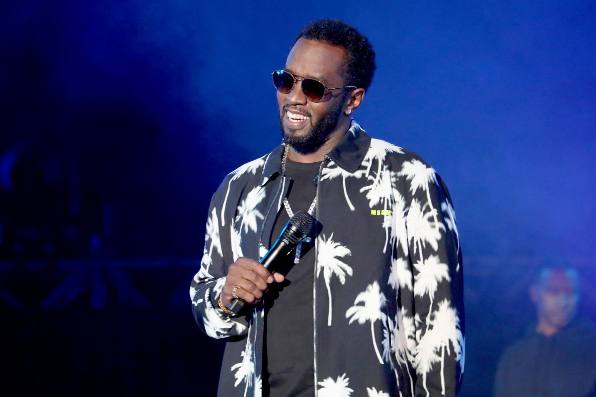 Diddy Shocks Some Fans With His Back Tattoo