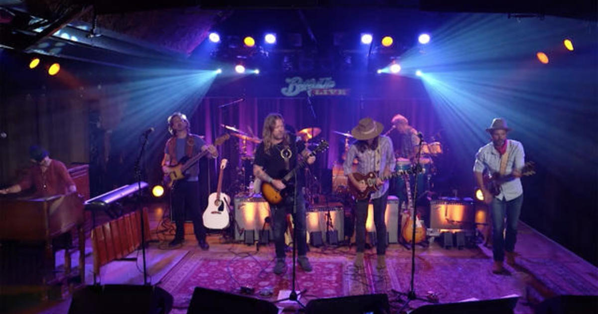 """Saturday Sessions: Allman Betts Band performs """"Pale Horse Rider"""""""