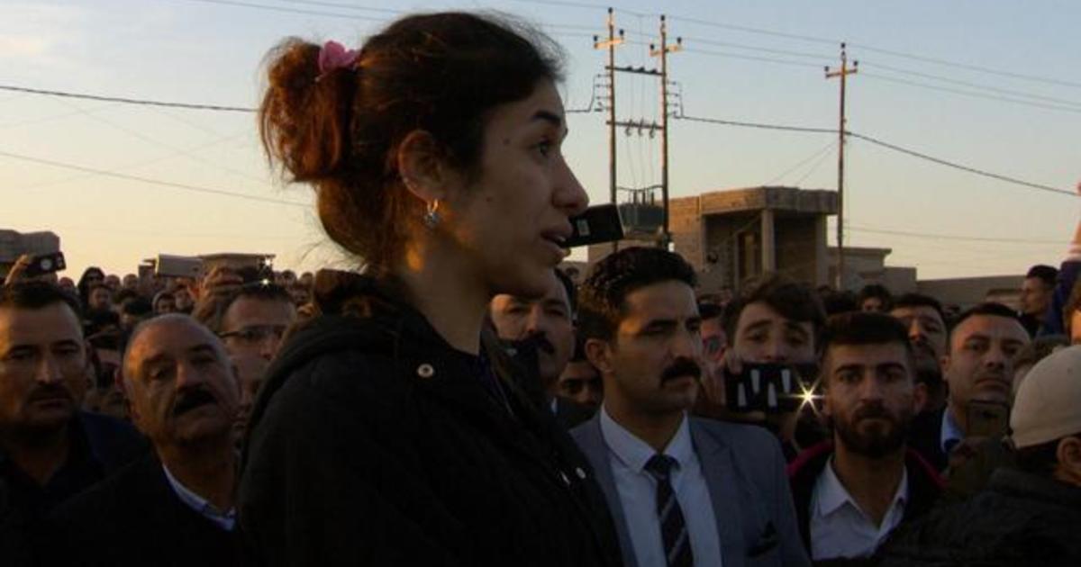 Nobel laureate Nadia Murad's fight to bring ISIS to court
