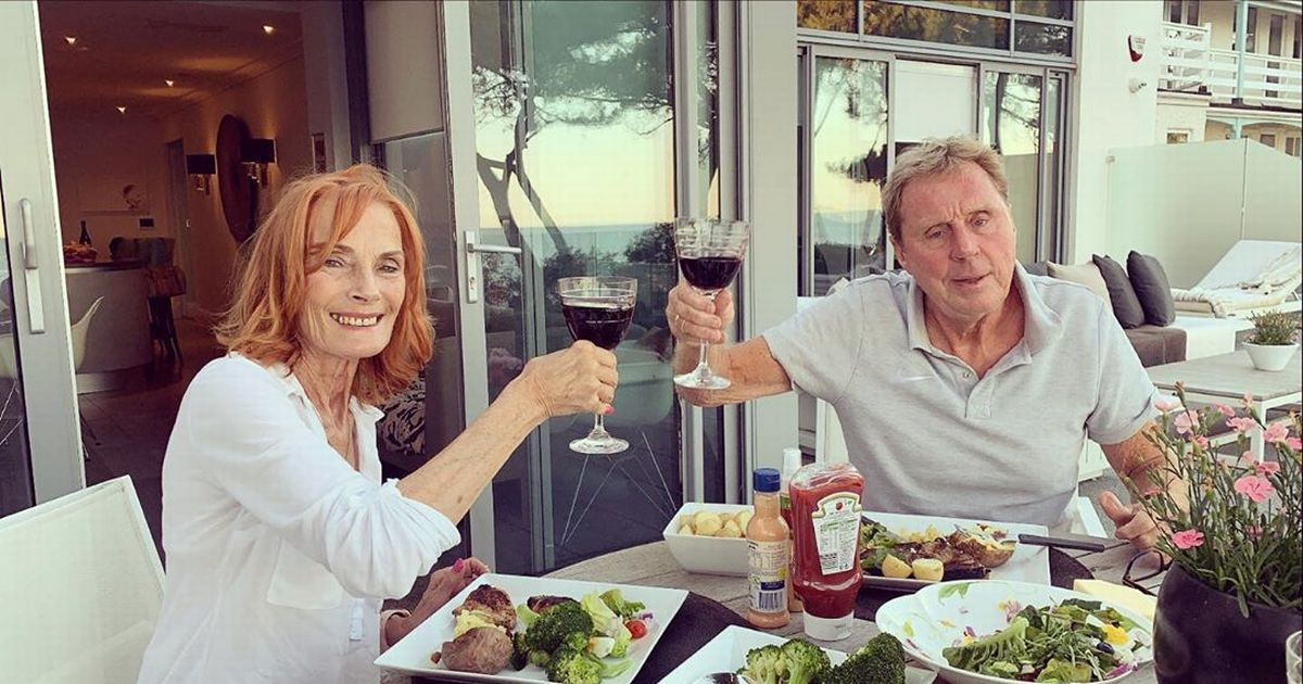 Harry Redknapp feasts on broccoli-fuelled BBQ with wife Sandra in rare snap