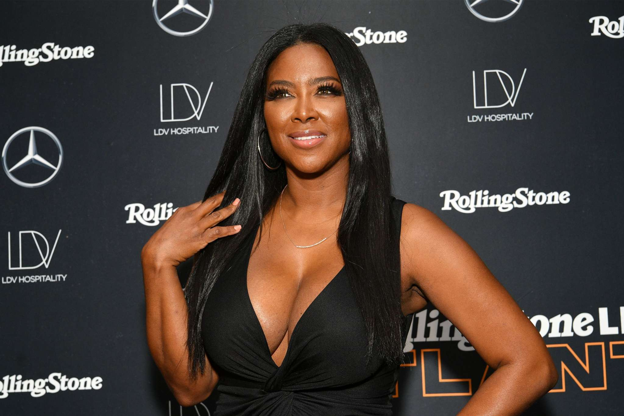 Kenya Moore Says She's Always On Top – Check Out Her Fabulous Photo That Has Fans Saying She's With Marc Daly