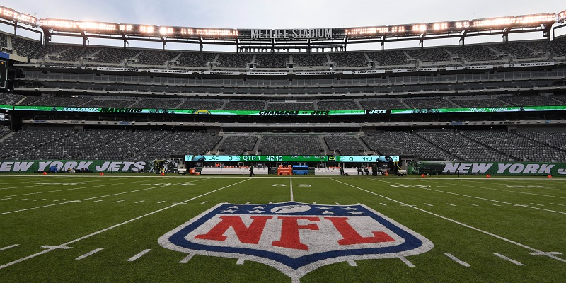 Jets, Giants to play without fans at MetLife Stadium