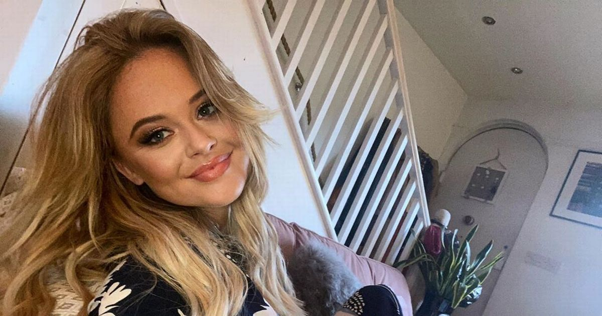 Inside Emily Atack's new ultra-modern London home and colourful garden