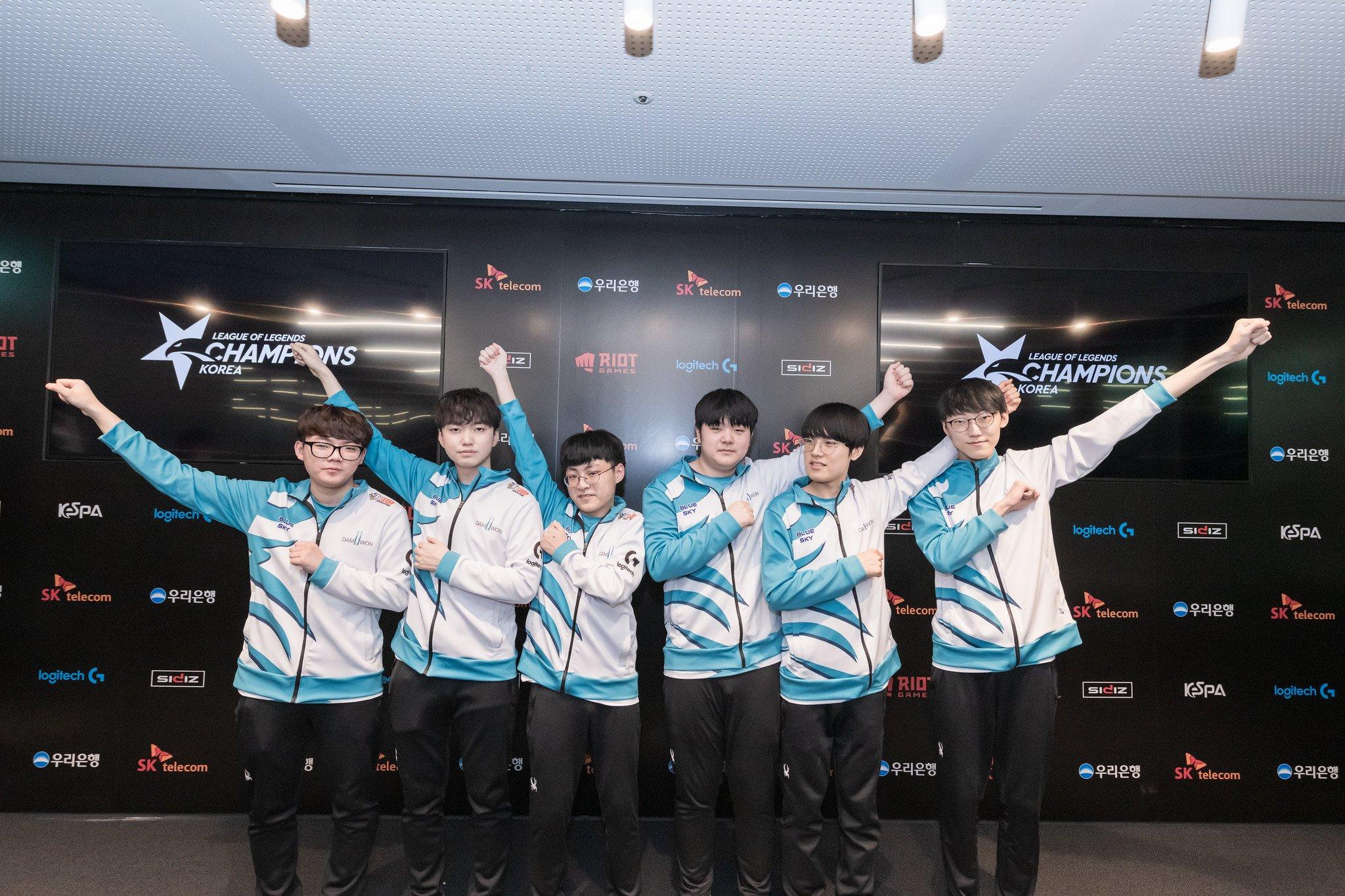 Damwon Gaming Destroy Team Dynamics In League Champions Korea Summer Split 2020
