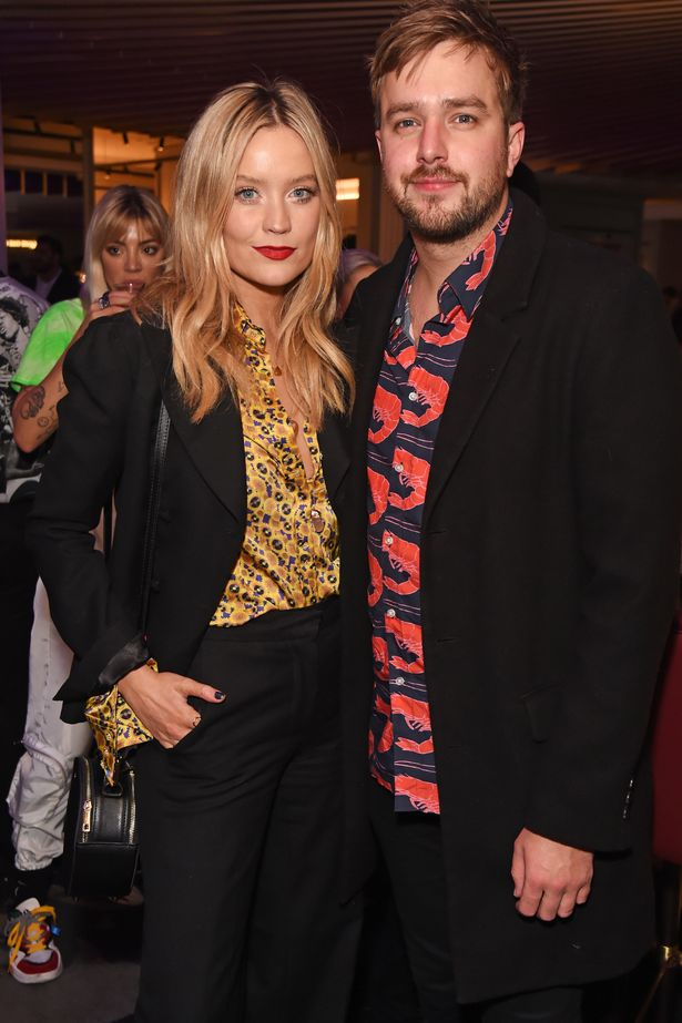 Laura Whitmore and Iain Stirling on the red carpet