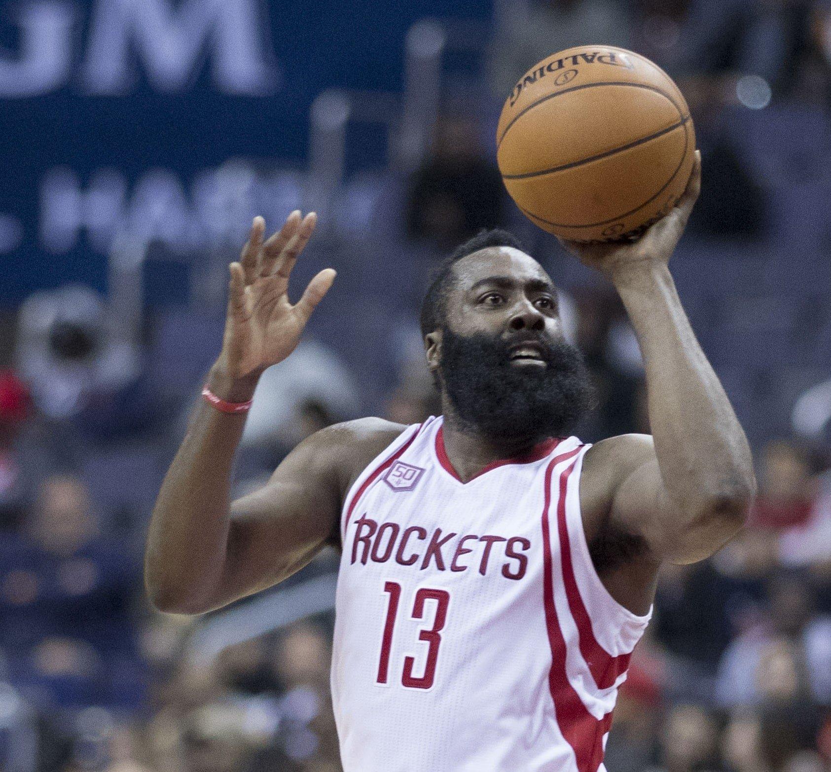 Harden Drops 49, Rockets Outlast Mavericks After Overtime, 153-149