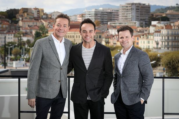 Anthony McPartlin, Declan Donnelly and Stephen Mulhern back in 2015