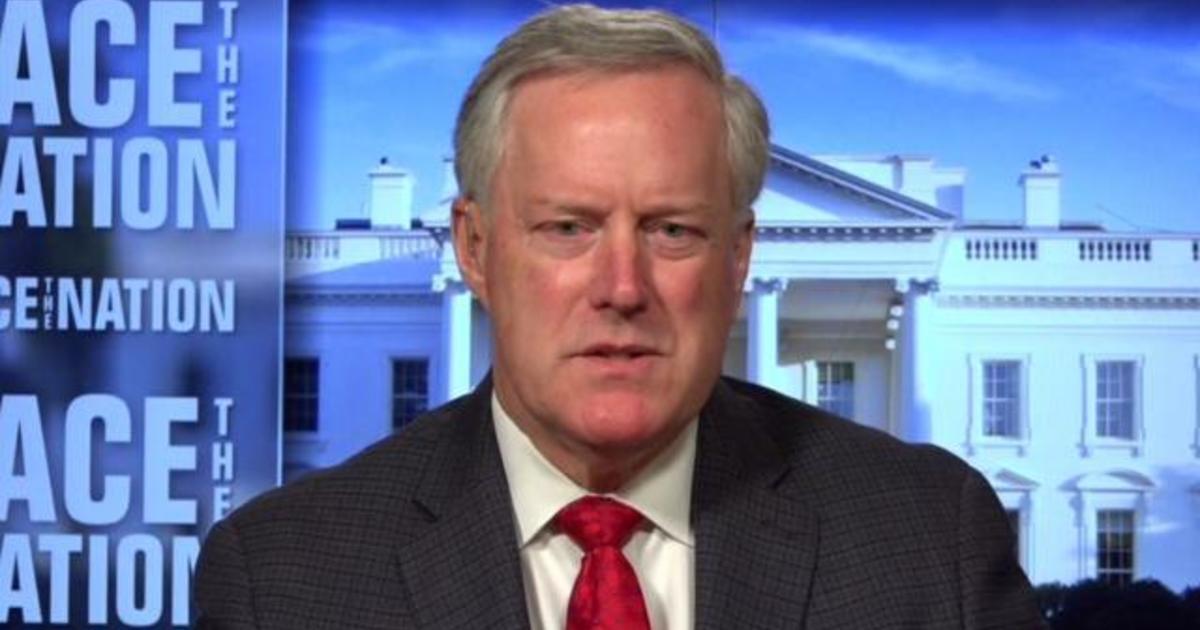 "Meadows says he's ""not optimistic"" on deal on coronavirus relief"