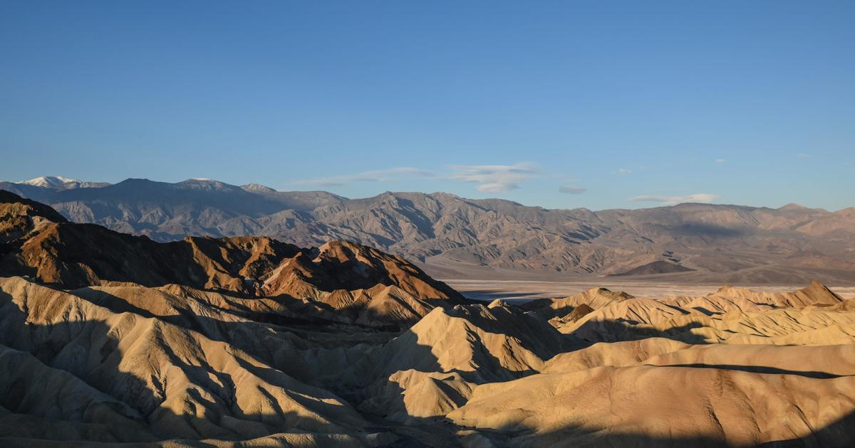 Death Valley hits highest temperature in U.S. in at least 107 years