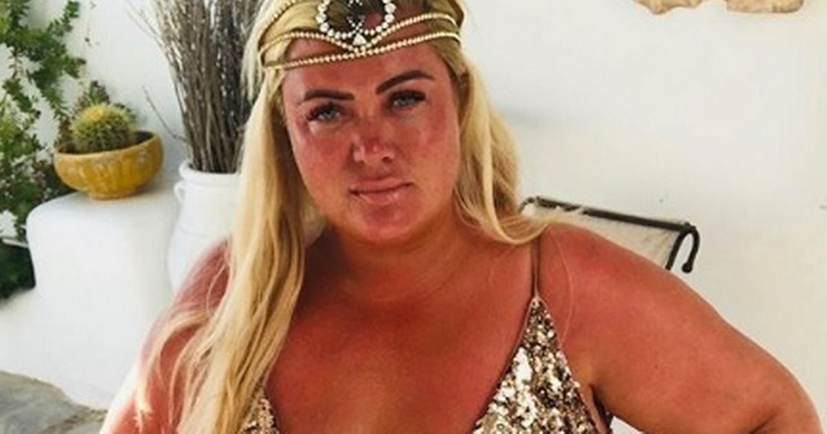 Gemma Collins unleashes inner Greek goddess on lavish getaway after bitter split