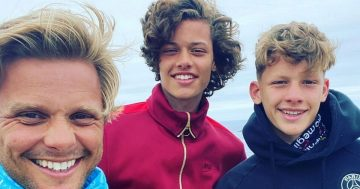 Emotional Jeff Brazier 'brought to tears' by camping holiday with lookalike sons