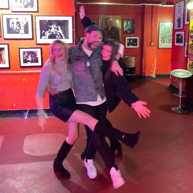 Kerry Katona's daughters Molly, 18, and Lilly, 16, celebrate dad Brian McFadden's engagement