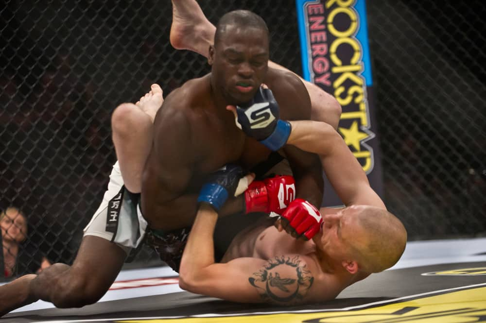 Derek Brunson Upsets Edmen Shahbazyan, Wins Via TKO in the Third Round