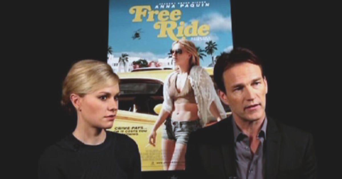 "Anna Paquin, Stephen Moyer talk ""Free Ride"""